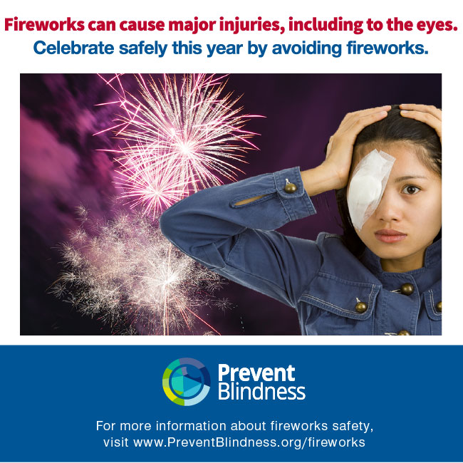 interior Fireworks Safety and Injury Information banner image
