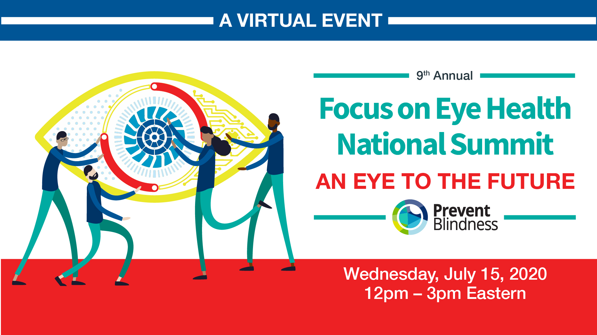 interior Prevent Blindness to Host Ninth Annual  Focus on Eye Health National Virtual Summit banner image